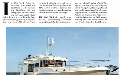 Pacific Yachting: New Boat Power- Nordhavn 41